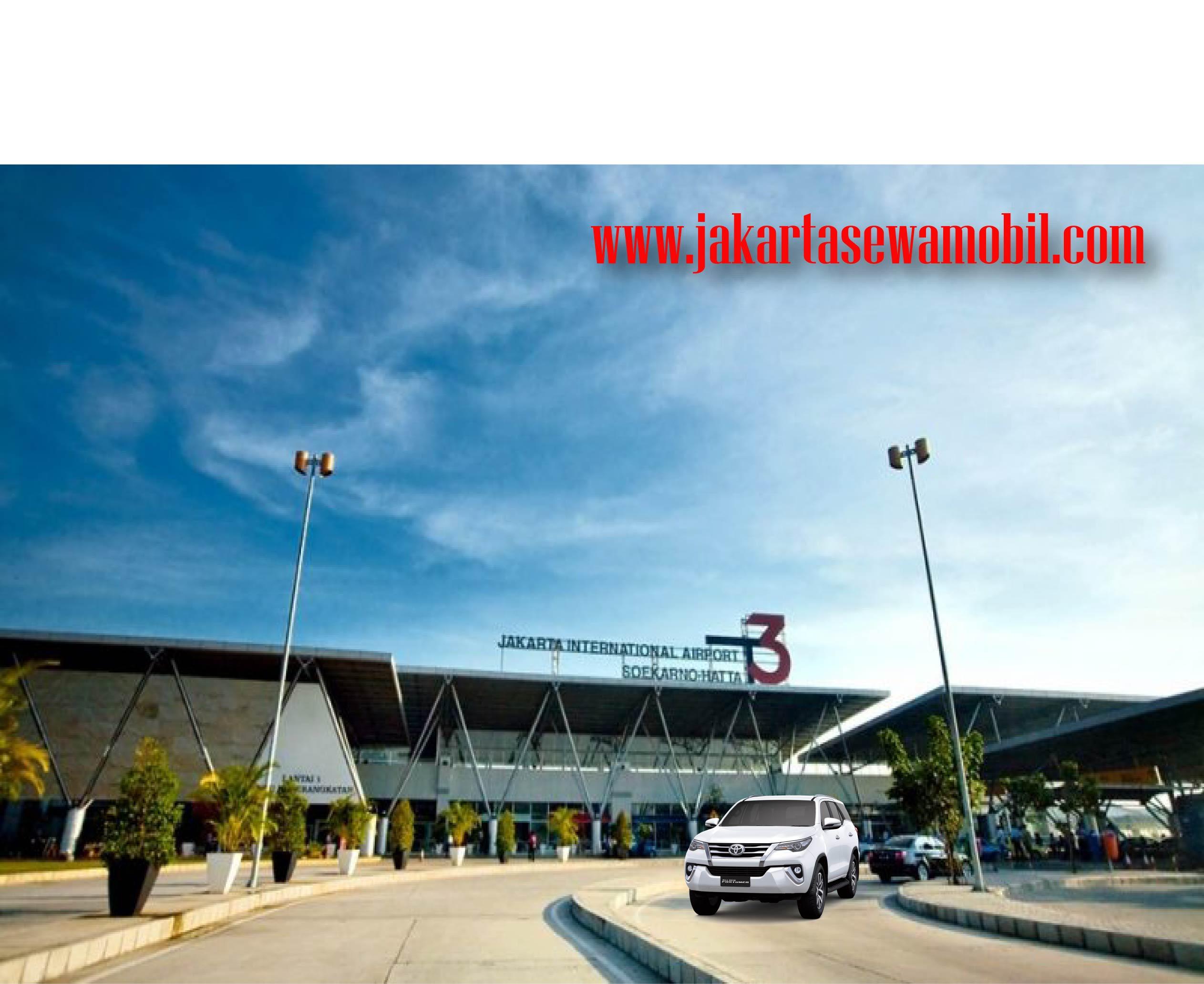 Antar jemput Bandara Soekarno-Hatta dan Halim Perdana Kusuma