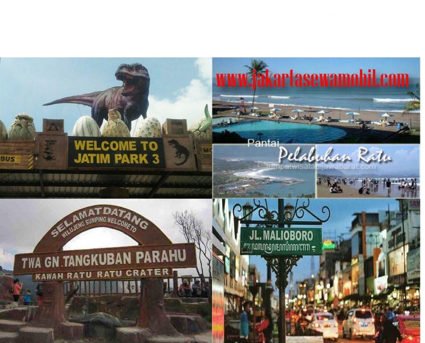 Rental mobil untuk Tour dan Pariwisata
